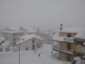 Campo di Giove ancora sotto le nevicate